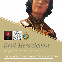 2019  DONI MERAVIGLIOSI  MUSEO DEI VESCOVI CANOSA