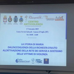 """La storia di Maria :evento formativo Centro antiviolenza """"RiscoprirSi…"""""""
