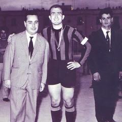 1969- Canosa  Umberto Iacobone con il capitano Frino