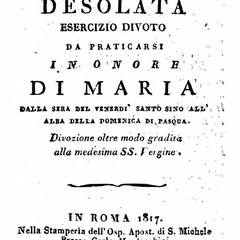Maria Desolata