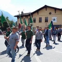 Valle d' Aosta Festa degli Alpini
