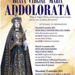 "2021 Canosa: Festa liturgica ""Beata Vergine Maria Addolorata"""