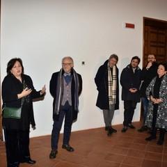 Bari Inaugurata la mostra Giuseppe Carta. Epifania della Terra