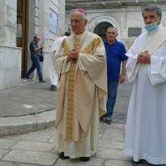 Mons. Luigi Mansi Diacono Gerardo Sansonna