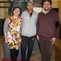 Valentina Pelagio, Giorgio Calcaterra e Sandro Sardella