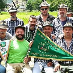 45°Anniversario della fondazione del gruppo  alpini di Champdepraz