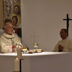 Mons. Luigi Mansi e Don Vito Zinfollino