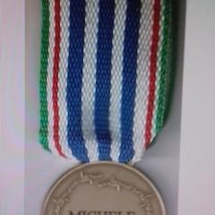 Medaglia d'onore alla dell'internato Michele Di Giulio