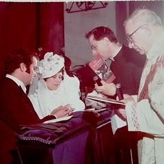 31/3/1975 Sposi Sciannamea Cosimo-Sansonna Palma Maria Don Peppino Luisi