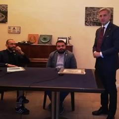Dott. Sergio Fontana Dott. Aldo Patruno ed Elia Marro Presidente Pro Loco