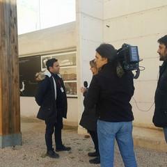 Intervistato Renato Tango  TG RAI1-Tomba Varrese