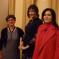Ass.Mara  Gerardi, Lucrezia Massari  e dott.ssa Carmelinda Lombardi