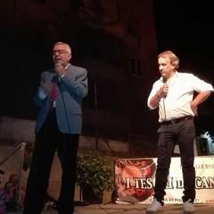Maestro Peppino Di Nunno e Fernando Forino