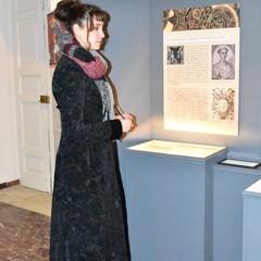 Lucrezia Massari in visita al  Museo dei Vescovi Canosa di Puglia(BT)