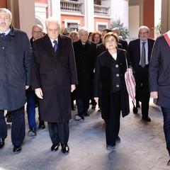 2020 Il Presidente della Repubblica Sergio Mattarella a Bari