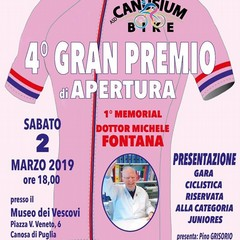 1° Memorial dottor Michele Fontana 4° Gran Premio di Apertura Juniores