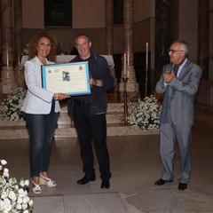 Dott.ssa Santina Mennea e Mons.Felice Bacco