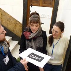 Michela Cianti, Lucrezia Massari e Sandro Sardella al Museo dei Vescovi