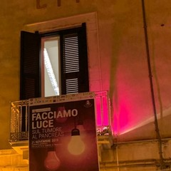 """Canosa """"Facciamo Luce sul Tumore al Pancreas"""" :Palazzo di Città"""