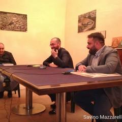 Gianni Pansini, Aldo Patruno e Elia Marro(Pres. Pro Loco Canosa)