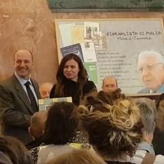 Paolo Pinnelli riceve il «Premio Giornalista di Puglia–Michele Campione»