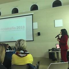 """Dott.ssa Carmelinda Lombardi  al convegno """"Le donne contro le ecomafie"""""""