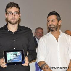 Gran Galà FIN Puglia premiato Michele Sassi da Ruggiero Messina