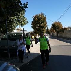 A Canosa i viandanti di Barletta sulla via Francigena