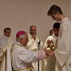Canosa Consacrazione nuovo altare S. Teresa del Bambin Gesù Mons. Luigi Mansi