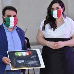 2020 Festa della Repubblica  Presidente Pro Loco  Elia Marro e Monica Paciolla