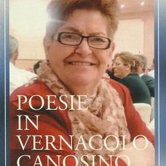 """Grazia Mastrapasqua  """"Poesie in vernacolo canosino"""""""