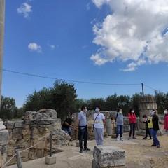 2020 Turisti a Canosa di Puglia, San Leucio  visite archeologiche in sicurezza