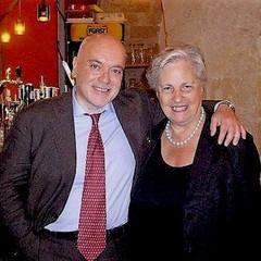 Sergio Infuso e Rita Borsellino