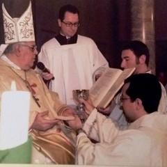 17 dicembre 2005: Mons Raffaele Calabro e Don Nicola Caputo