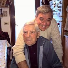2016 Nunzio Valentino con il padre Giuseppe