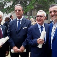 Barletta: Consegna dell'OMRI a Giuseppe Di Nunno