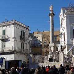 Canosa, Piazza Colonna: Immacolata Concezione