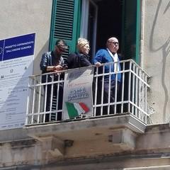 2017 Lino Banfi assiste alla Processione