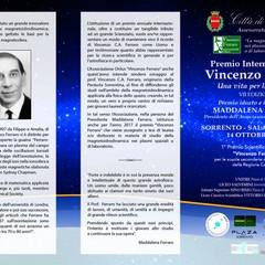 Premio Internazionale Vincenzo Ferraro VII Edizione