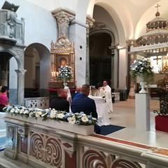 Sabina e Roberto, sposi militari nella Cattedrale S.Sabino