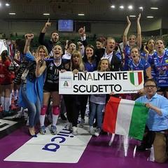 IGOR VOLLEY NOVARA CAMPIONE D'ITALIA