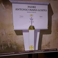 Una nuova tomba per il  Venerabile P.A.M. Losito