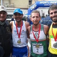 Giorgio Calcaterra,  Rodolfo Guastamacchia e  Nicola Mastrodonato
