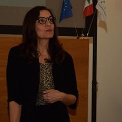 Patrizia  Minerva,Presidente del Club per l'UNESCO di Canosa di Puglia