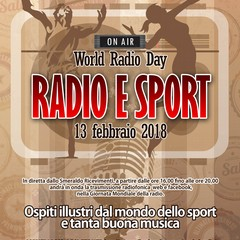 Radio e Sport -  World Radio Day 2018