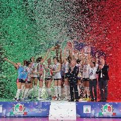 Stefania Sansonna vince la Coppa Italia