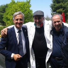 Sergio Fontana, Clemente Cirillo e Don Felice Bacco