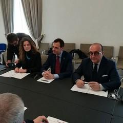 Commissione Parlamentare Antimafia:Pellegrini,  Messina  e Vitali a Barletta