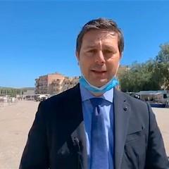 2020 Sindaco Morra al  Mercato Canosa di Puglia