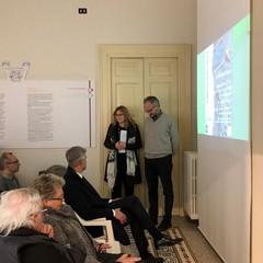 Dott. Italo Maria Muntoni  e  Gloria Cito (archeologa)